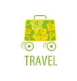 logo travel vector image vector image