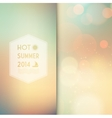Sunny shine background with summer text