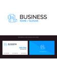 branding brand business company identity blue vector image