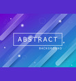 colourful geometric background with dynamic shapes vector image vector image