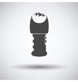 Stun gun icon vector image vector image