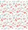 Sweet Pastel Valentine Pattern vector image vector image