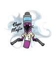 vape mafia vaping juice for vape vector image