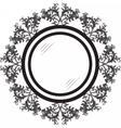 Vintage Retro Round frames vector image vector image