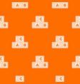abc cubes pattern seamless