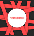 abstract background from red stripes vector image vector image