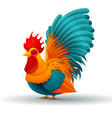 chicken hen vector image