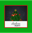 merry christmas 2019 background abstract template vector image