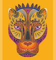 pantera coloring book anti-stress vector image vector image