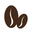 brown coffee beans graphic vector image vector image