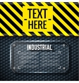 danger tech abstract background concept vector image vector image
