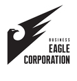 Eagle Corporation - Logo Sign vector image vector image