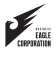 Eagle Corporation - Logo Sign vector image
