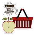 Farm Products design vector image