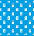 gas column pattern seamless blue vector image
