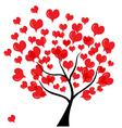 love tree vector image vector image