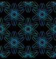 minimal sacred geometry seamless pattern textile vector image