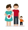 Pregnancy mother design vector image vector image