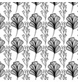 rustic natural flowers with branches background vector image vector image