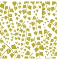 Seamless texture with green trees of birch vector image