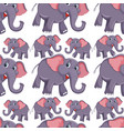 a elephant seamless pattern vector image vector image