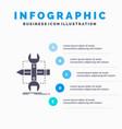 build design develop sketch tools infographics vector image vector image