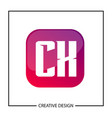 initial letter cx logo template design vector image vector image