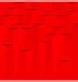 abstract red 3d geometric pattern brick wall