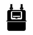 domestic gas meter vector image vector image