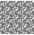 geometrical square pattern background - gray vector image vector image