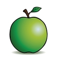 Healthy cartoon apple vector image vector image
