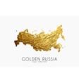 russia map logo creative logo vector image