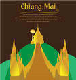 Doi Suthep Chiang Mai vector image