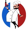 French Chef vector image vector image