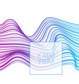 gradient streak background vector image vector image