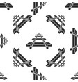 railroad icon seamless pattern on white background vector image vector image