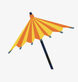 Umbrella design vector image