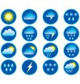 weather conditions vector image