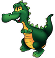 Cheerful Dino vector image