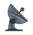 communication signal antenna vector image vector image