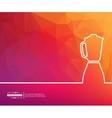 Concept banner background vector image vector image