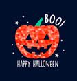 hand drawn print design halloween vector image