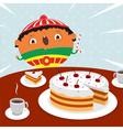 Surprise birthday vector image