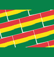 abstract bolivian flag or banner vector image vector image