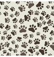 Dog Paw Print Seamless anilams pattern vector image vector image