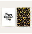 Happy Valentines Day Trendy Posters vector image vector image
