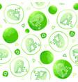 libra zodiac sign seamless pattern vector image vector image