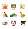 School icons vector | Price: 3 Credits (USD $3)