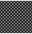 seamless simple geometric snow flake pattern vector image vector image
