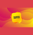 super symbol special offer sign vector image vector image